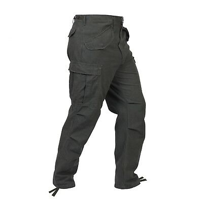 Olive Drab Vintage Military M-65 Field Tactical Fatigue Pants Rothco 2601