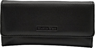 Martin Wess Tabakbeutel Lea / Stand Up Pouch / Großer Stellbeutel / Lammnappa