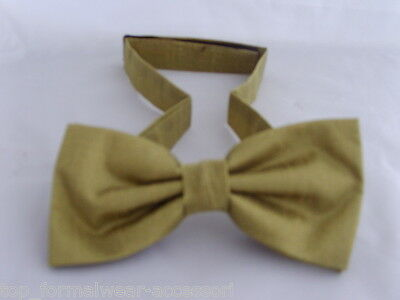 Bow tie /< GG /> Metallic Polyester Gold Collection /> Hankie Cravats Sets