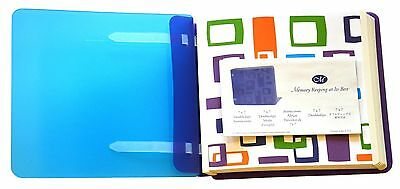 Creative Memories 7x7 Doubledipz Geometric Album w/Pages