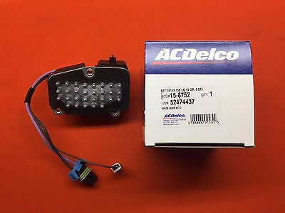 ACDelco 15-8752 Air Conditioning Power Module GM OE 52474437