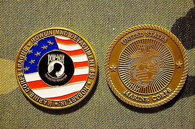 USMC Marine Corps League Howlin Mad Det #93 Hobart IN Semper Fi Challenge Coin