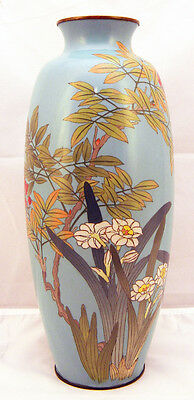 Magnificent Japanese wire-wireless Cloisonne Vase