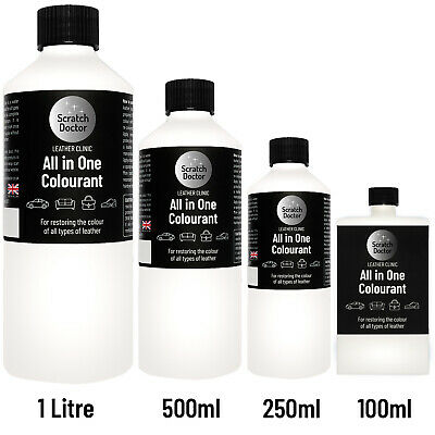 All In One Leather Colourant. / Dye Stain Paint Re-Colouring Restorer Repair Kit