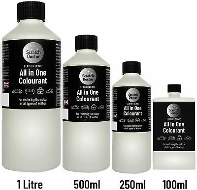250ml All In One Leather Colourant. Easy To Use. / Dye Stain Touch Up Repair Kit