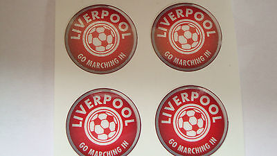 """12  Liverpool  Crown Green Bowls Stickers  1""""  Lawn Bowls Flat Green Indoorbowls"""
