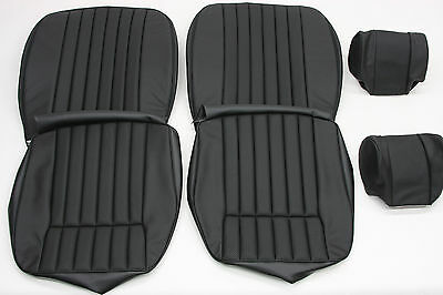 New Jaguar Xke E-Type S2 Leather Seat Cover Made To Original Specification