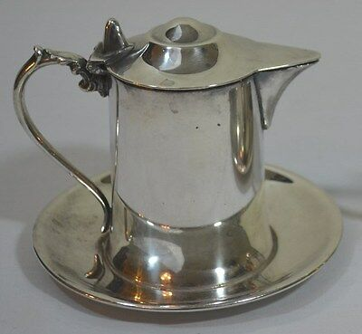 Wallace Silverplate Covered Creamer
