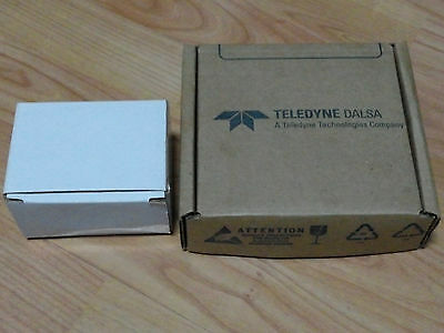 TELEDYNE DALSA Camera CR-GM00-M1281 with LENS, DSA-20PFE-12FUS Switching Adapter