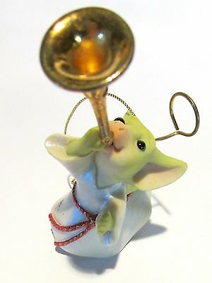 """Pocket Dragon """"Toot"""" Ornament  by Real Musgrave, New in original box"""