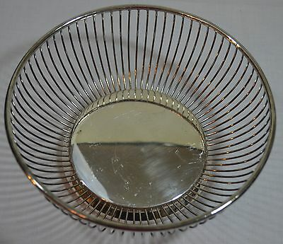 Vintage Gorham Silver Original Silverplate Round Wire Bowl