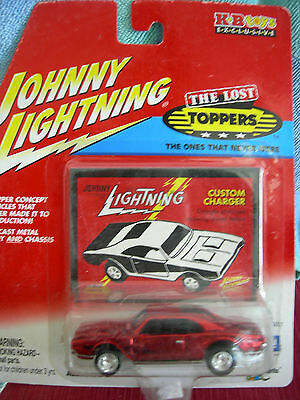 Johnny Lightning 1/64 Custom Charger the Lost Toppers KB toys exclusive rare!!
