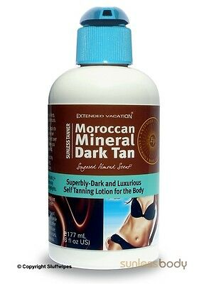 Fake Tan Lotion MOROCCAN MINERAL Self Tanning Lotion