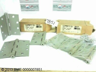 """2 TeLL MANUFACTURING H4545B COMMERCIAL HINGE'S 4.5"""" X 4.5"""" H4545B"""