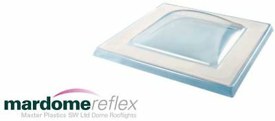 450 x 450mm Polycarbonate Flat Roof Light Window Dome