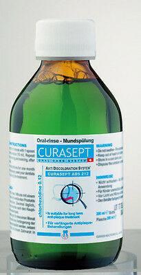 Curaprox Curasept ADS 212 Chlorhexidine 0.12% Oral Rinse Mouthwash Sores Ulcers