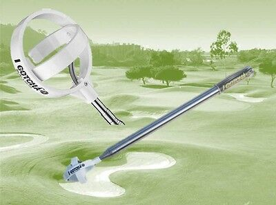I GOTCHA Golf ball Retriever Executive XL Model, # 1 Ball Pick Up Scoop in Golf