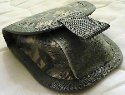 ACU Tactical Double Handcuff Pouch, Molle, US Army UCP Universal Camouflage