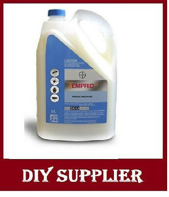 5L Temprid SC cockroaches spiders ants bedbugs pest control  kille bug  Beetles