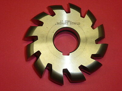 "NOS! UNION BUTTERFIELD HSS CONVEX MILLING CUTTER, 1"" x 4-1/4"" x 1-1/4"", 54-10022"