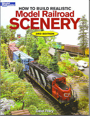 Model Railroader Books How To Build Realistic Scenery For Your Train Layout