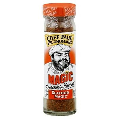 Chef Paul Prudhomme's Seasoning Blends Seafood Magic