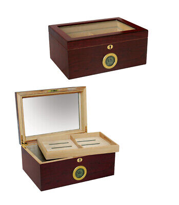 Prestige Import Group Berkeley Digital Cigar Humidor with Removable Tray
