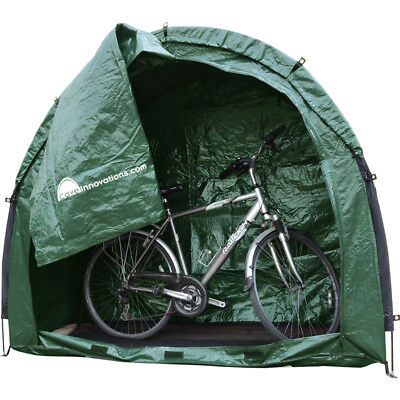 Green Bike Cave Tidy Tent Multi Functional Storage Solution Waterproof Camping