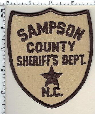 Sampson County Sheriff (North Carolina) Shoulder Patch - new from 1987