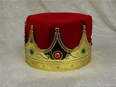 King Adult Crown Costume Accessory Prom High School Dance