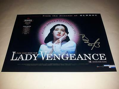 """Lady Vengeance Pp Signed 12""""x8"""" Poster Chan-Wook Park"""