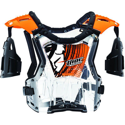 Thor NEW Mx Quadrant Orange Roost Guard Chest Protector Motocross Body Armour