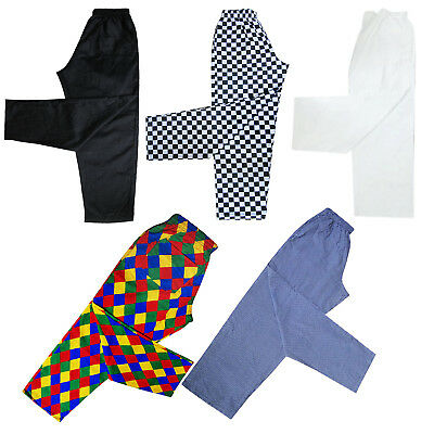 Chefs Trousers / Uniform Chef Whites / Clothing Chef Pants / Trousers 5 Designs