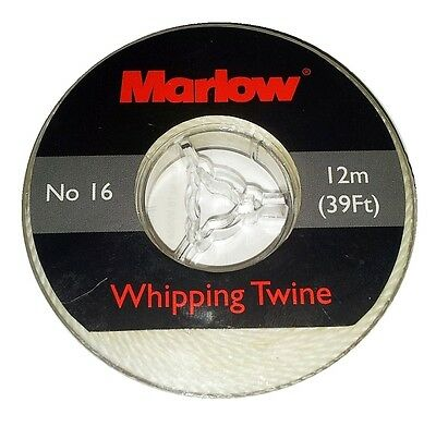 Marlow Whipping Twine No / Size 16 in White - 12m / 39ft