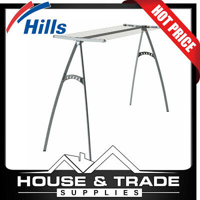 Hills Portable Clothes Line 170 17 Metres Drying Space Clothesline