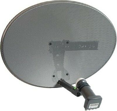 Sky & Freesat Satellite Dish with Octo LNB, use for Sky or FTA Free Delivery