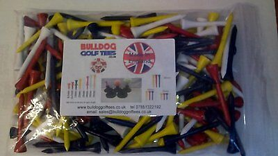 Wooden Golf Tees: Various Sizes and Quantities **TOP QUALITY TEES** FREE UK. P&P