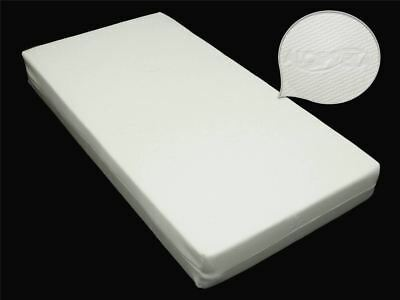 All Sizes Junior Cot Bed Toddler Foam Mattress Quilted Aloe Vera Removable Cover