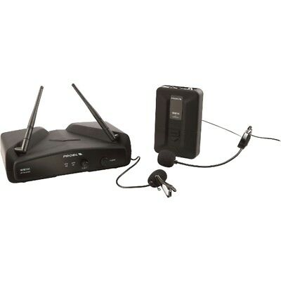 PROEL WM100H radio microfono wireless ad archetto + pulce levalier + bauletto