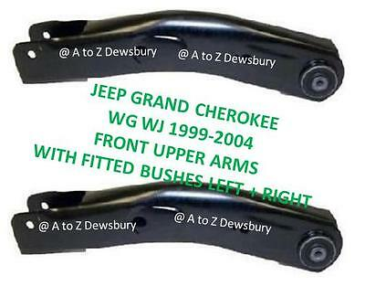 Jeep Grand Cherokee Wj Wg Front 2 Upper Suspension Arm Arms Bush Bushes Hd Arms