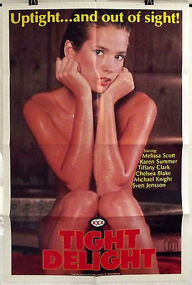 Tight Delight - Melissa Scott / Karen Summer - Original Usa 1Sht Movie Poster