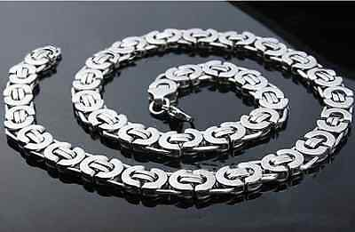 High polish Mens Womens Stainless Steel Necklace Chain or bracelet 10mm 8mm