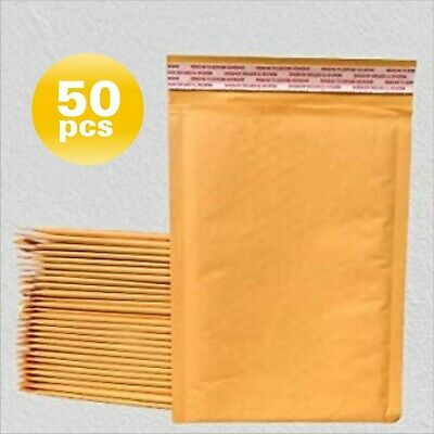 Yens® 50 #7 Kraft Bubble Padded Envelopes Mailers 14.25 X 20