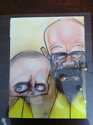 Breaking Bad Lithograph of Walter White/Heisenberg and Jesse Pinkman