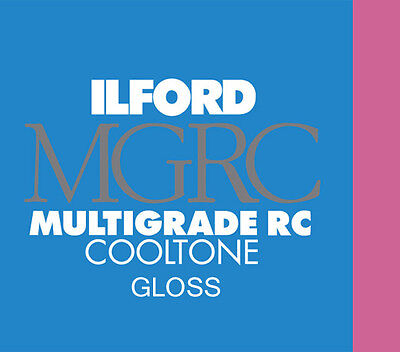 Ilford MGIV RC Cooltone Gloss 12 x 16in - 30.5 x 40.6cm 50 Sheets
