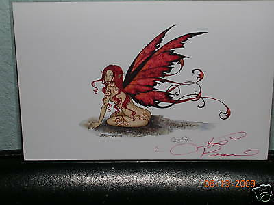 Amy Brown - Temptress - Mini Print - SIGNED