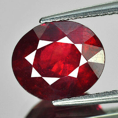 3.94 CT   RUBIS NATUREL   VS   pierres précieuses fines GEMS 131596