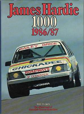 James Hardie 1000 The Official Bathurst Great Race Number 6 1986 / 1987, book