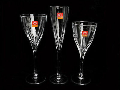 Crystal 18PCE Fusion Champagne, Red Wine & White Wine Set RCR Italian Crystal