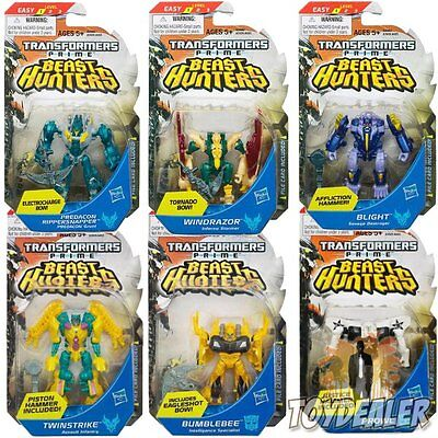 Transformers Prime Beast Hunters Legion Class Level 1 Action Figur 10 Cm Hasbro